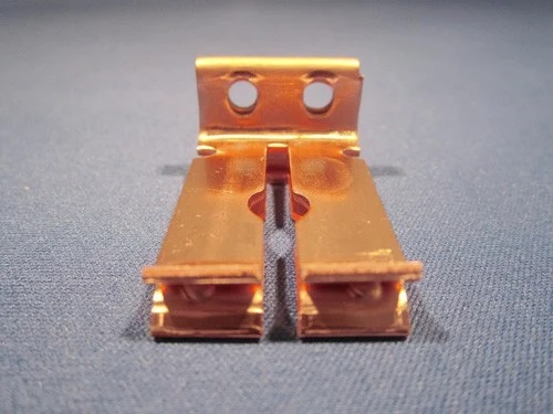Four Slide Stamping Component
