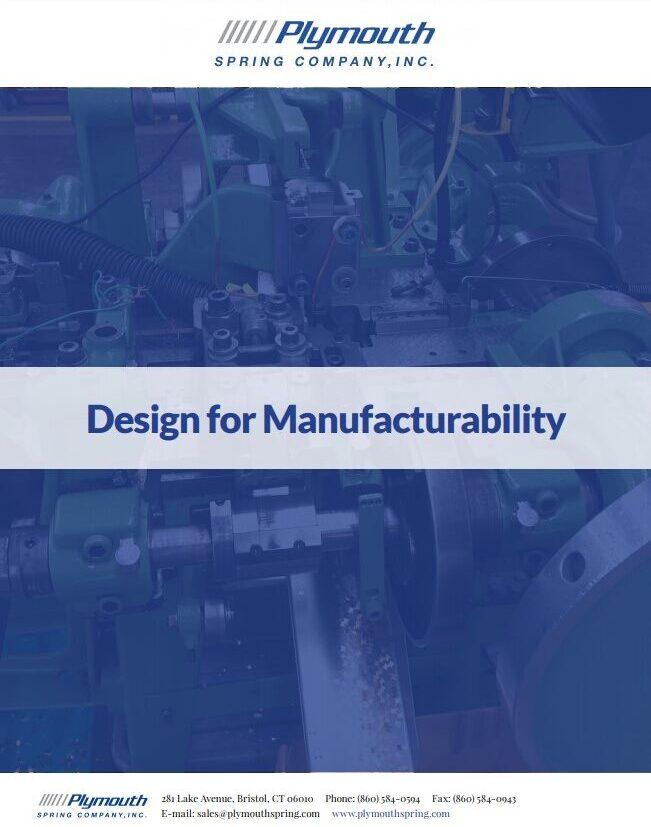 Design for Manufacturability e-Book
